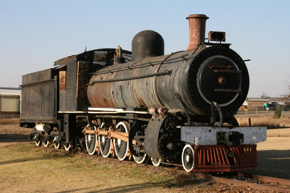 Ermelo South Africa  city images : old STEAM LOCOMOTIVES in South Africa: Ermelo, in town on R29 road ...