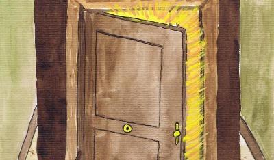 Donde intercambiar ideas para la vida y los for Puerta que se abre sola