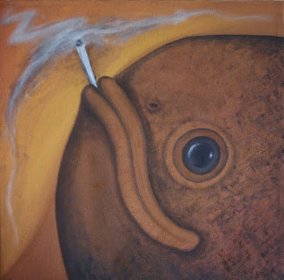Fish smoking