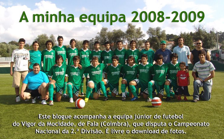 A minha equipa 2008-2009