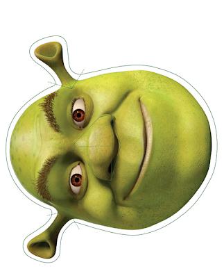 El Cofre De Monica Mascaras Shrek Y Fiona
