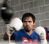 Pacquiao Training Against Cotto
