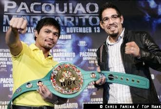 Pacquiao vs Margarito Presscon Photos