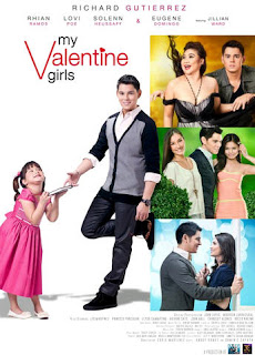 gma films, jillian ward, My Valentine Girls, regal films, richard gutierrez