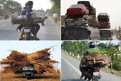 transporte lotado