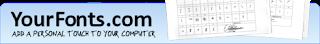 YourFonts.com Font Generator