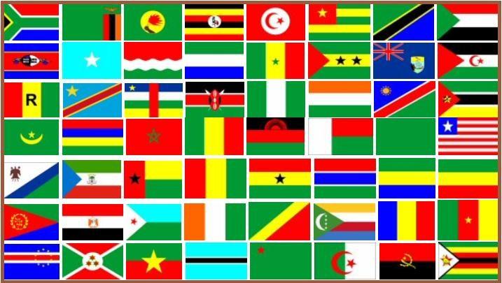 Bandeiras Africanas