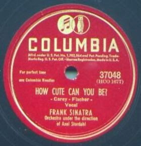 Frank Sinatra - How Cute Can You Be