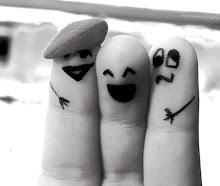 Amigos são pontes sobre aguas turbulentas...