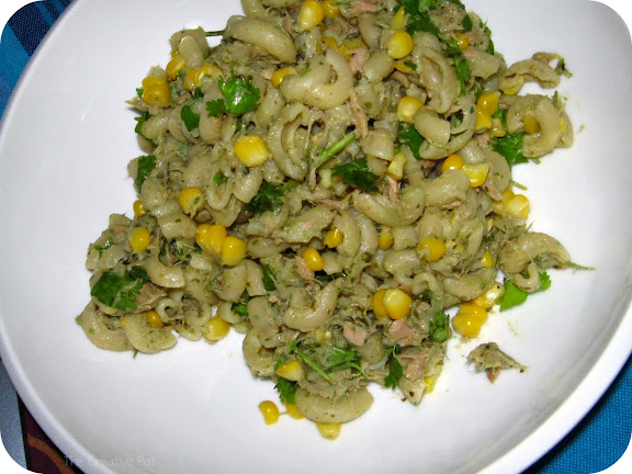 Photo of Tuna & Coriander Pesto Pasta Salad