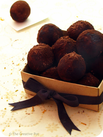 Dark Chocolate Camembert Truffles [photo]