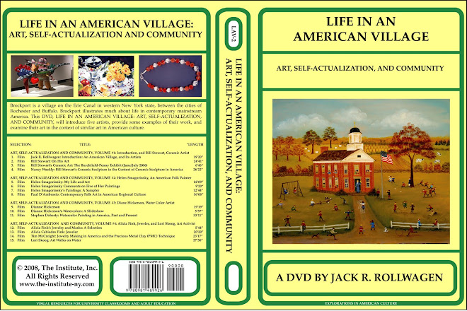 LIFE IN AN AMERICAN VILLAGE: ART, SELF-ACTUALIZATION, AND COMMUNITY