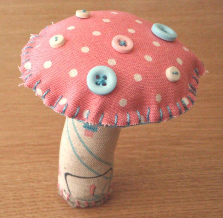 champignon tissus