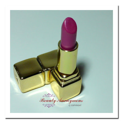 Guerlain KissKiss Lipstick: Pretty in Pink