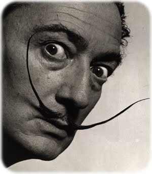 Discontinuous & surrealist with big Moustaches