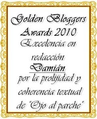 ¡Gracias a Mariano por este premio!