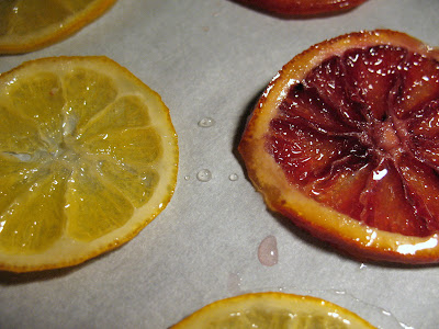 candied citrus slices 3 lemons or meyer lemons 3 small