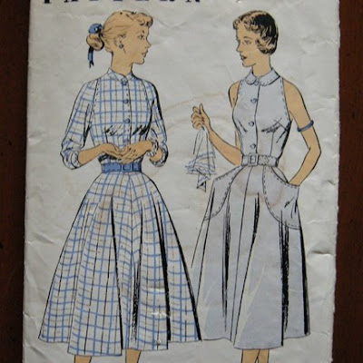Fashion  Women  on 40 S Dress Pattern With Terrific Pockets   10  Empress Patterns