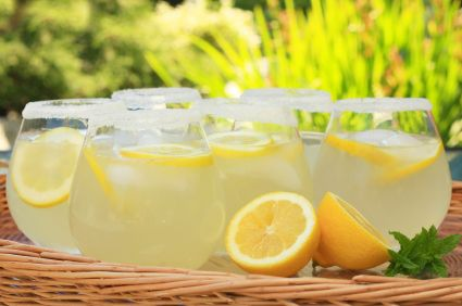 Homemade Lemonade, On such a hot day!