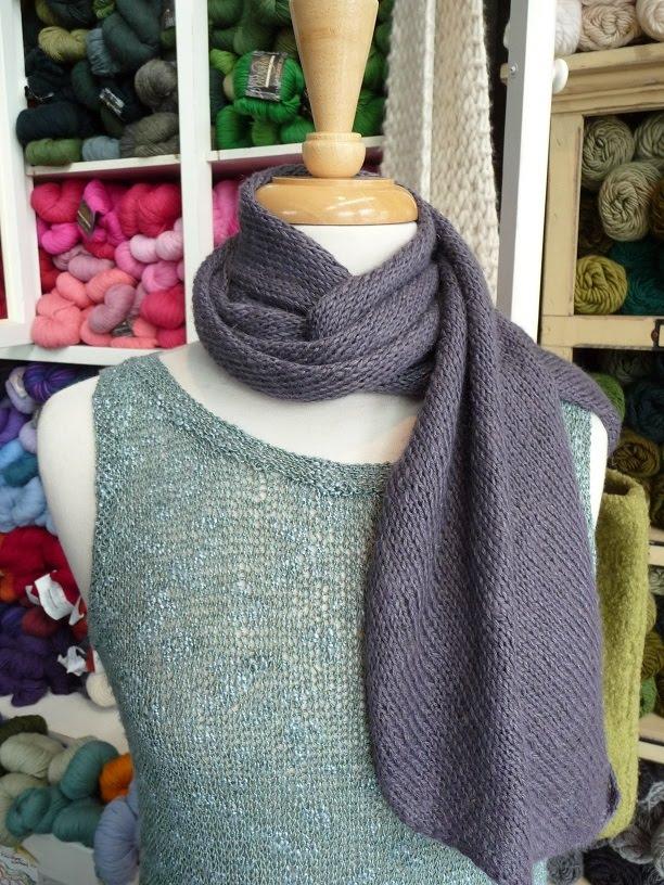 close knit: Firefly Bias Scarf