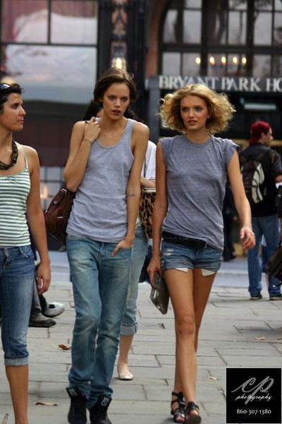 Freja Beha Erichsen & Lily Donaldson, models
