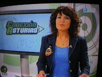 maria del cueto, presentadora de conexión asturias...