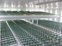 Futuro templo da CEI-Cabo Frio para 1.200 pessoas sentadas