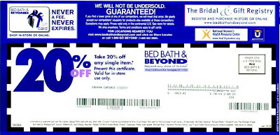 Bath   Discount Coupon on Bed Bath   Beyond Coupons To Over 130 Million American Families This