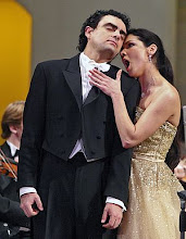 Anna and Rolando at a concert in Moscow on 22nd January 2006