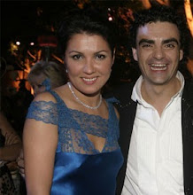 Anna and Rolando at the season opening gala weekend of the LA opera in September 2006