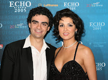 Anna and Rolando at the ECHO award 2005 in Munich