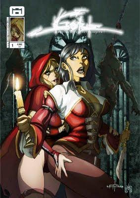 Gore GG Studio fumetto copertina