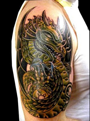 Dragon Tattoo Pictures | Horikyo Tattoo
