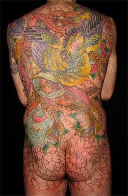 back tattoo, japanese tattoo, contest tattoo