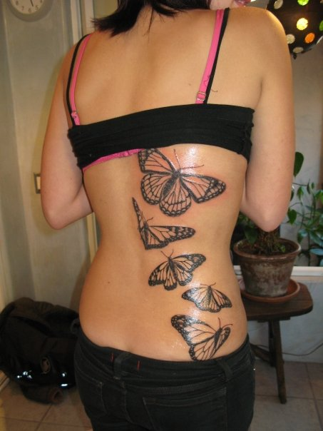 New Butterfly Tattoos Gallery | TATTOO DESIGN