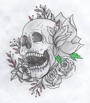 Skull Tattoo Stencils Picture 3