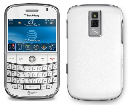 The BlackBerry Bold 9700 White will go onsale in the UK imminently and