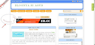 Cara membuat tulisan bergerak mengikuti kursor blogspot