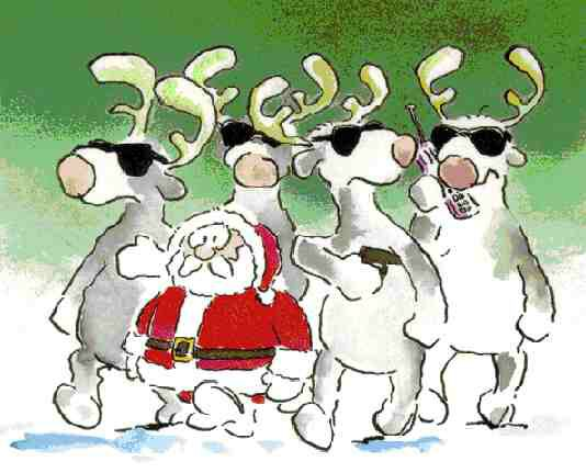 Santa s came