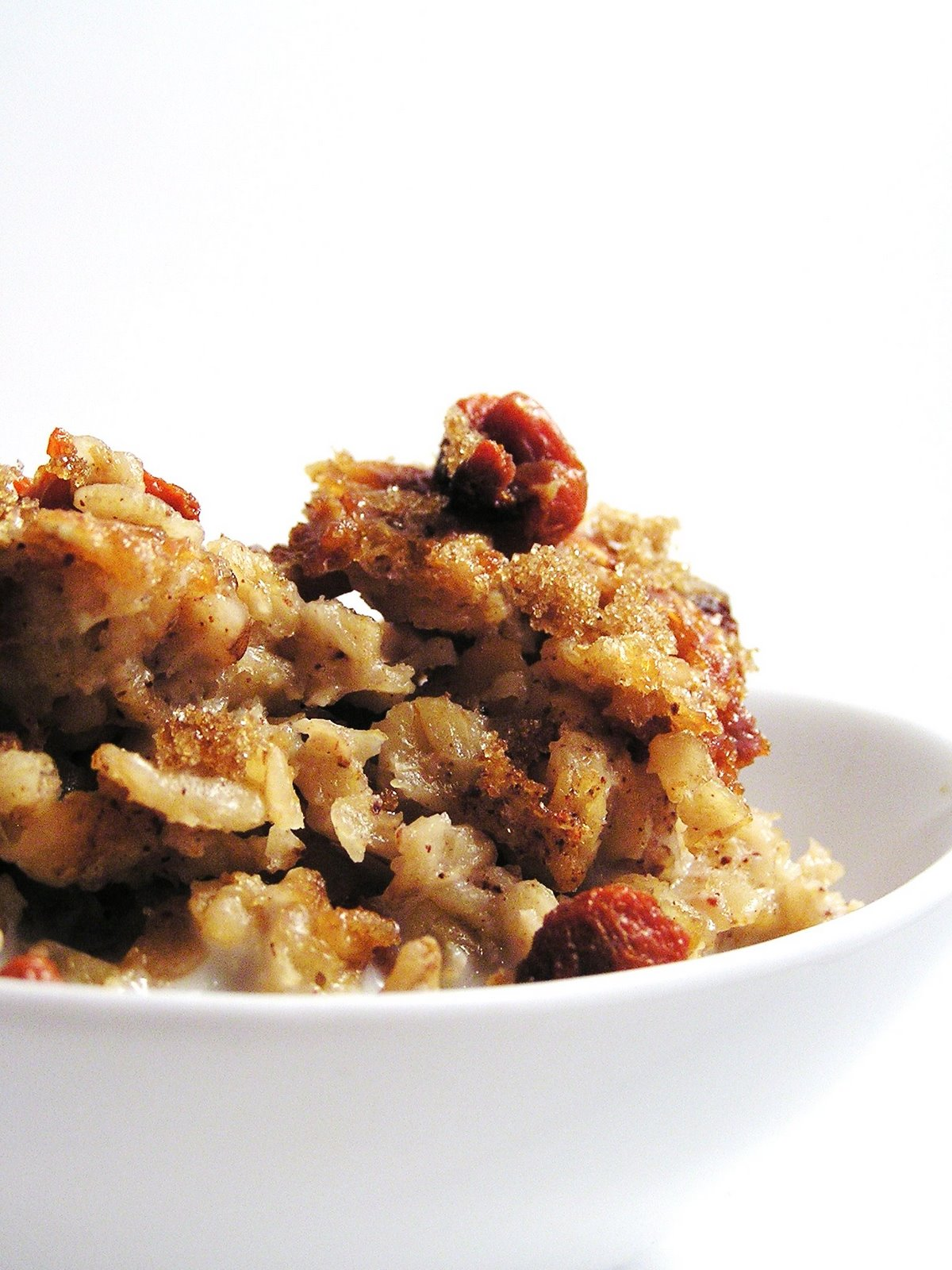 Cast Sugar: Baked Oatmeal