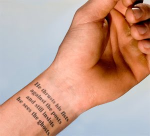 Im Also Still Pretty Set On My Stephen King Quote Tattoo For Left Wrist Times New Roman Font As Clean And Simple Possible