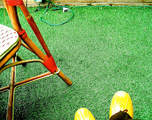 my yellow shoes