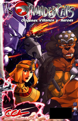 Thundercats Villain on Los Thundercats Que Pesa Aproximadamente 190 Mb Y En Vienen 18 Comics