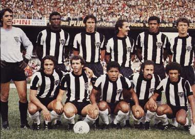 Time do Atlético-MG campeão Brasileiro de 1971
