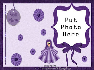 http://ascrappersdream52.blogspot.com/2009/03/purple-princess-photo-desktop.html