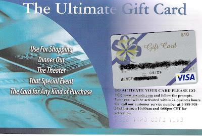 MyInsiderDeals Visa Gift Card