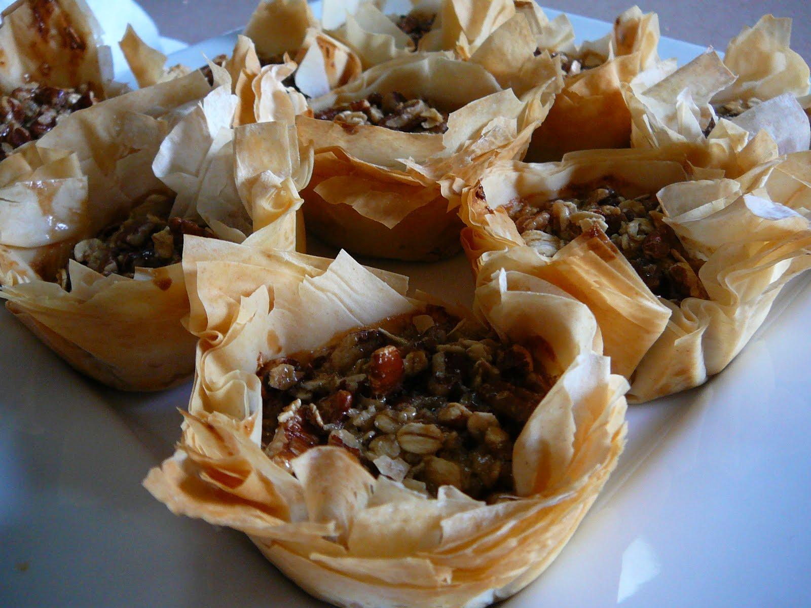 Eighty Twenty: 20(ish)--- Pecan Pie Tartlets