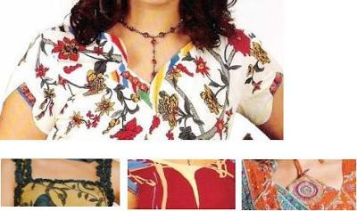 2010 Latest Neck Designs for Shalwar Kameez