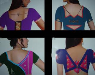 Blouse Neck pattern