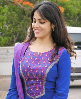 Actress in salwar kameez